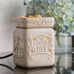 Live Well Illumination Fragrance Ceramic Wax Warmer
