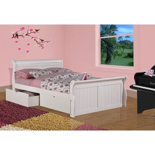 Drinkwater Sleigh Bed with Storage