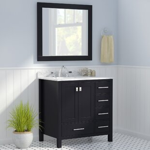 Newtown 36 Single Vanity Set with Mirror