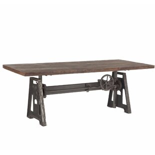 Katherine Crank Solid Wood Dining Table