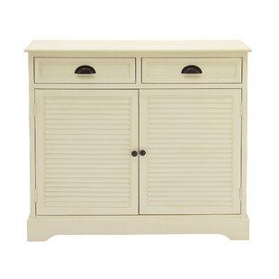2 Door 2 Drawer Wood Accent Ca..