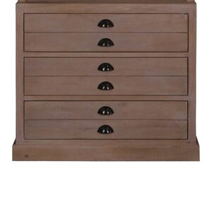 Gracie Oaks Prairie 3 Drawer Lateral File