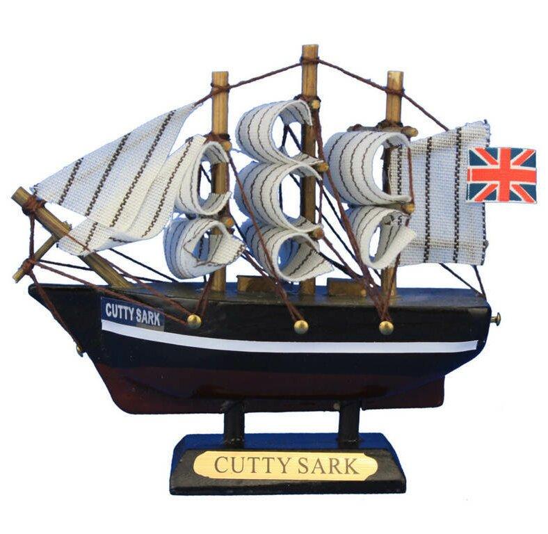 Breakwater Bay Fruitland Tall Clipper Model Ship Wayfair