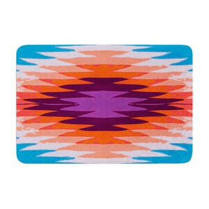 Nika Martinez Surf Lovin Hawaii Memory Foam Bath Rug