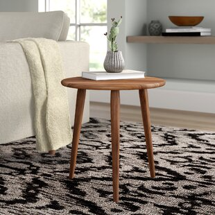 Comparison Allegro Mid Century Modern End Table by Mistana