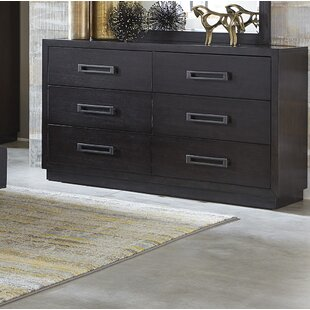 Union Rustic Broadnax 6 Drawer Double Dresser