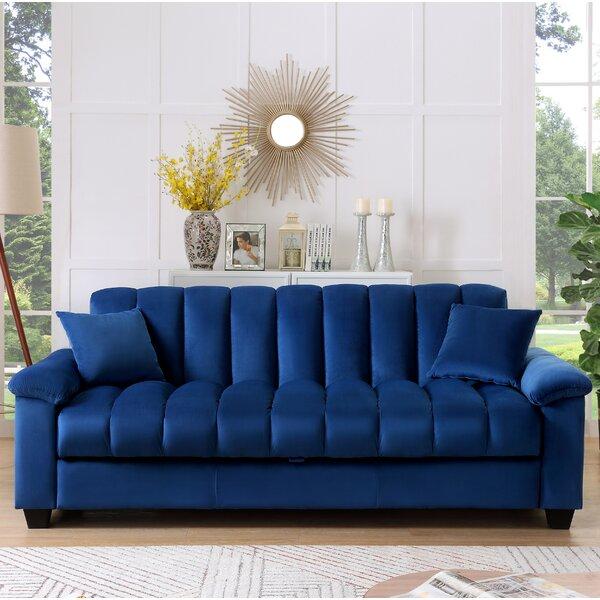 Surprising House Hampton Dahlia Sofa Wayfair Theyellowbook Wood Chair Design Ideas Theyellowbookinfo
