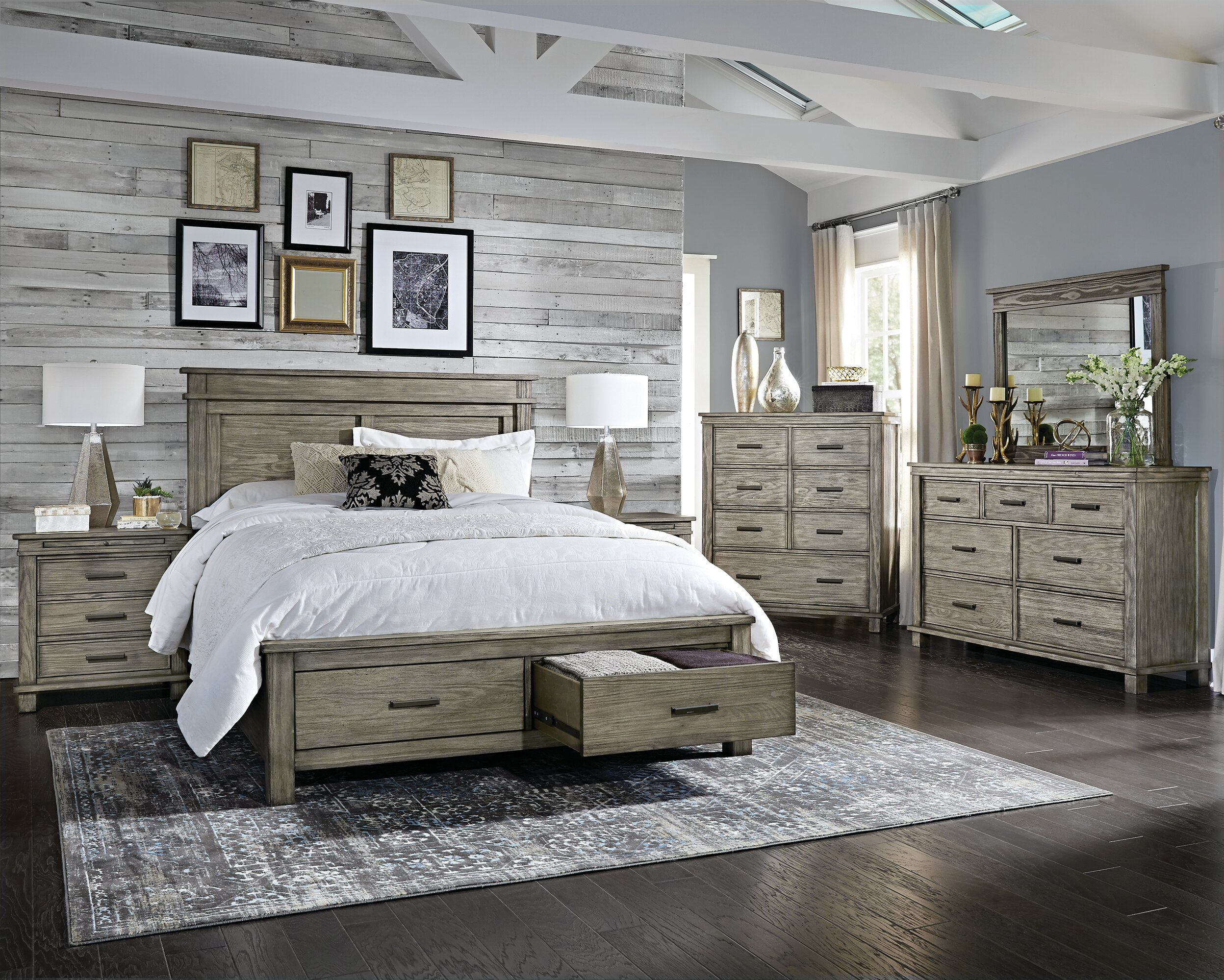 Eskew Storage Platform Configurable Bedroom Set