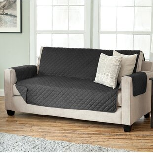 Oberon Diamond Box Cushion Sofa Slipcover