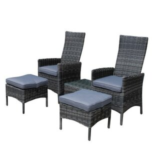 Sano 2 Seater Rattan Conversation Set By Sol 72 Outdoor