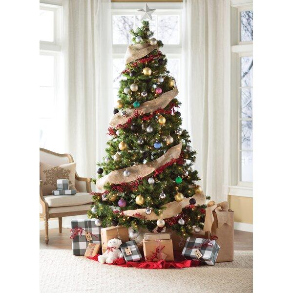 Artificial Christmas Tree Warehouse: Green Fir Artificial Christmas Tree With Clear Lights