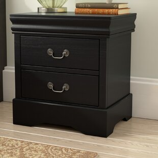 Larrabee 2 Drawer Nightstand by Alcott Hill