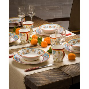 Duomo 16 Piece Dinnerware Set Service For 4