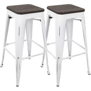 Claremont 77cm Bar Stool (Set Of 2) By Borough Wharf
