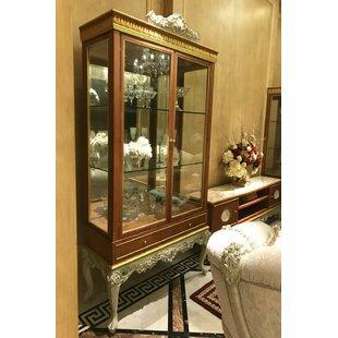 Atlantis 2-Door Lighted Curio Cabinet