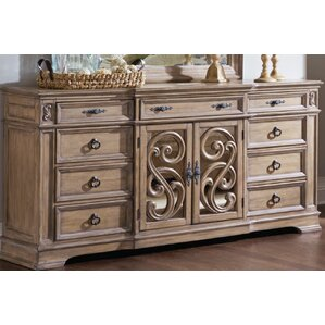George 9 Drawer Combo Dresser