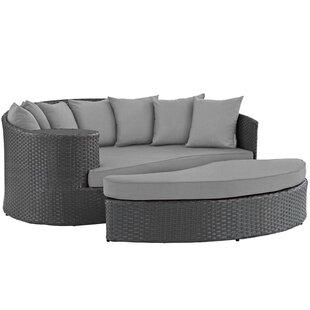Tsakig Outdoor Patio Sunbrella® Daybed (Set Of 2) By Ebern Designs