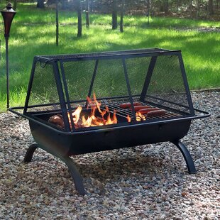Freeport Park Lewisville Steel Wood Burni..