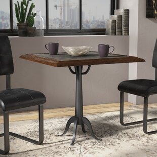 Metal Kitchen Table Metal kitchen dining tables youll love lalani metal dining table workwithnaturefo