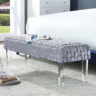 Willa Arlo Interiors Branca Upholstered Bench