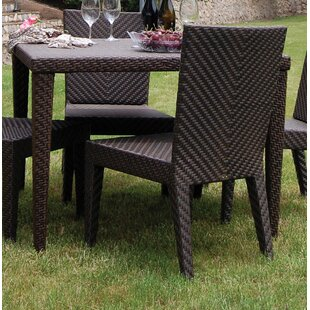 Soho Glass Dining Table by Hospitality Rattan