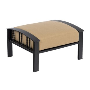 Comstock Outdoor Ottoman with Cushion by Woodard