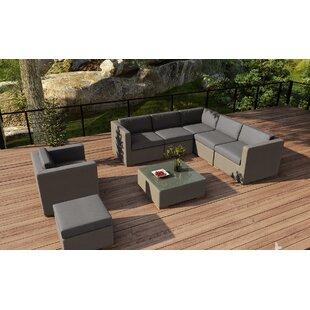 Related Post 8 Piece Teak Sectional Set with Sunbrella Cushions by Orren Ellis