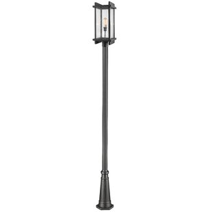 Low priced Beeching Outdoor 1-Light 119.38 Post Light By Ivy Bronx