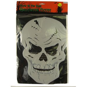 scary hanging skeleton skull halloween decoration pack of 72