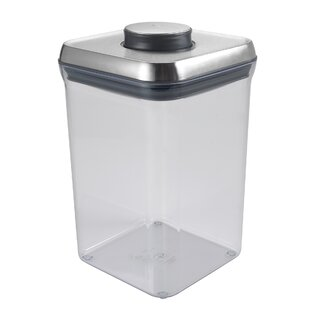 SteeL Big Square Pop 128 Oz. Food Storage Container  sc 1 st  AllModern & Modern Food Storage Containers | AllModern