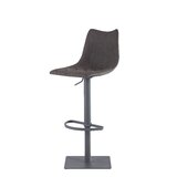 Estelle Adjustable Height Swivel Bar Stool by Williston Forge