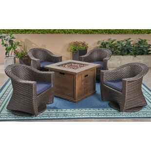 Knapp 5 Piece Sofa Seating Group