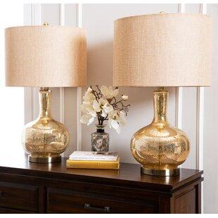 Mercer41 Baldock 2 Piece Table Lamp Set (..