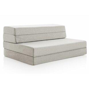 4  Medium Firm Gel Memory Foam Mattress  sc 1 st  Wayfair & Adult Foam Flip Chair Bed | Wayfair
