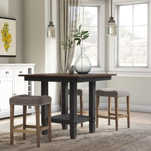 Marchan Square Pub Table by Gracie Oaks