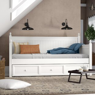 Find Casey Twin Daybed with Trundle by Birch Lane™ Heritage Reviews (2019) & Buyer's Guide