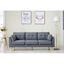 Modern Couches modern linen sofas + couches | allmodern