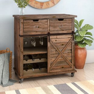 Loon Peak Dynes 2 Drawer Accent Cabinet