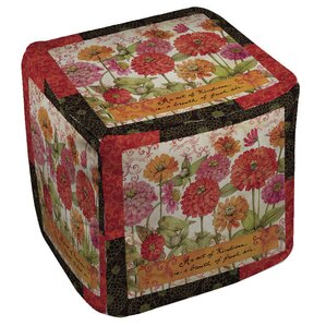 Zinnia Ottoman by Manual Woodworkers & Weavers