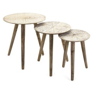Charlita Round 3 Piece Nesting Tables