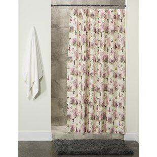 House of Hampton Acker Cotton Shower Curtain