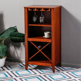 Reiber Bar with Wine Storage by Fleur De Lis Living