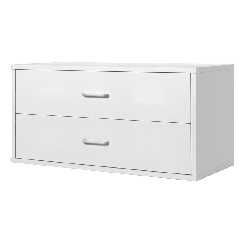 Johnny 2 Drawer Storage Chest  sc 1 st  Wayfair & Zipcode Design Johnny 2 Drawer Storage Chest u0026 Reviews | Wayfair