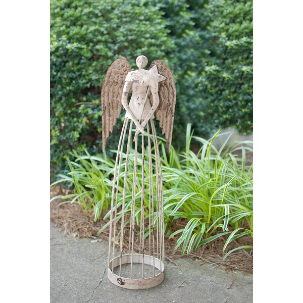 AttractionDesignHome Garden Angel Trellis Christmas Decoration