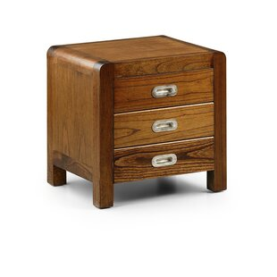Abberville 3 Drawer Bedside Table By Bloomsbury Market