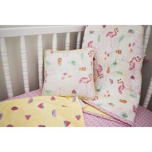 Evangeline Spiral Stripe Printed Fitted Crib Sheet ByViv + Rae