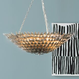 Willa Arlo Interiors Rochelle 8-Light Bowl Pendant