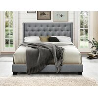 WayFair.com deals on Greyleigh Gloucester Upholstered Standard Queen Bed