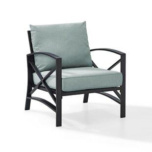 Freitag Patio Chair with Cushions
