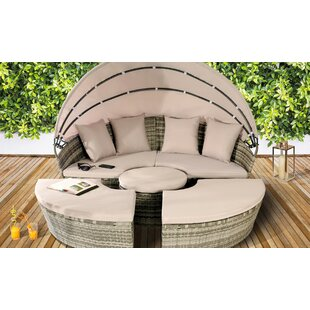 Stacey Garden Daybed With Cushions Image